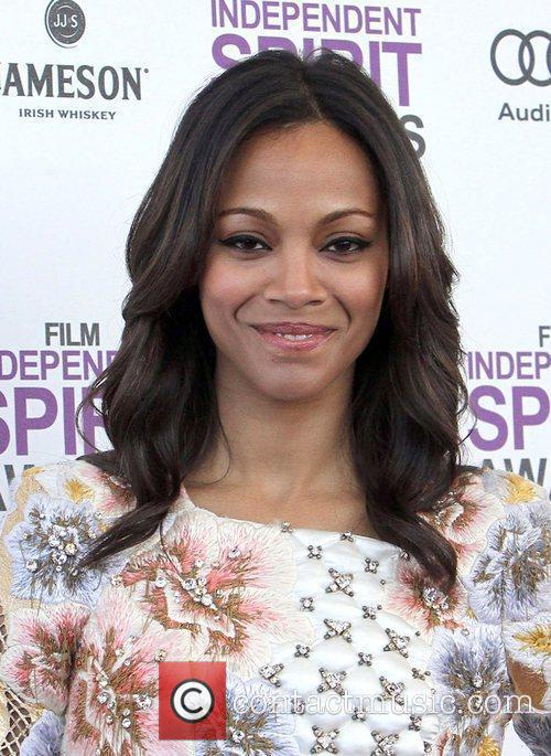 Zoe Saldana and Independent Spirit Awards 2