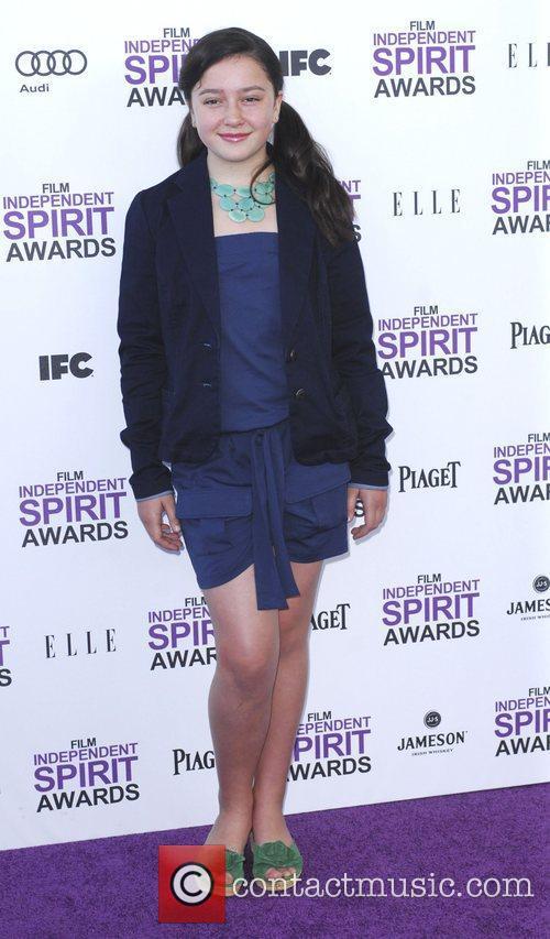 Amara Miller and Independent Spirit Awards 3