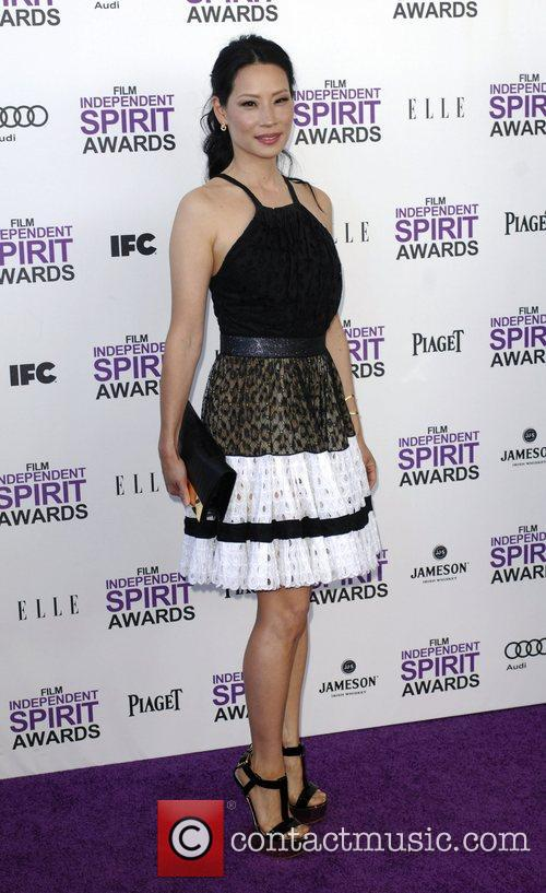 Lucy Liu and Independent Spirit Awards 8