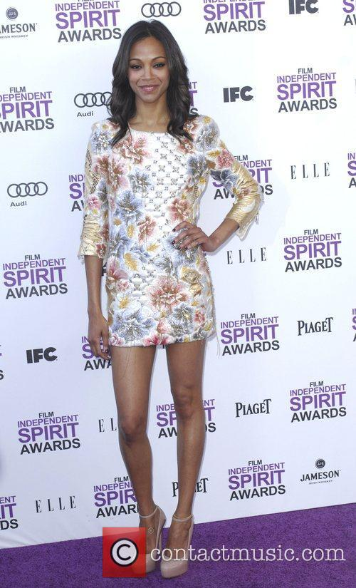 Zoe Saldana and Independent Spirit Awards 4