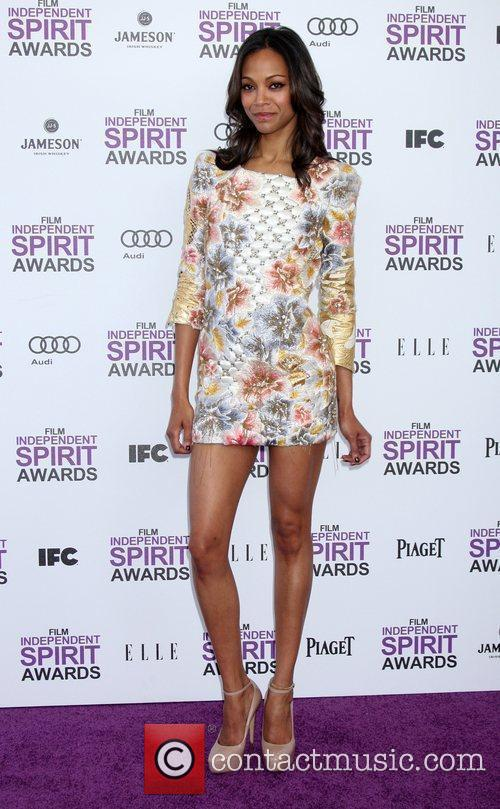 Zoe Saldana and Independent Spirit Awards 1