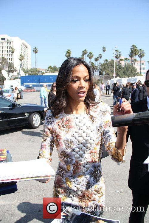 Zoe Saldana and Independent Spirit Awards 3