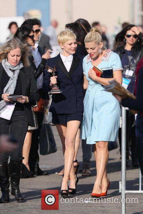 Michelle Williams, Busy Philipps and Independent Spirit Awards 2