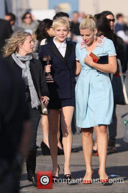 Michelle Williams, Busy Philipps and Independent Spirit Awards 3