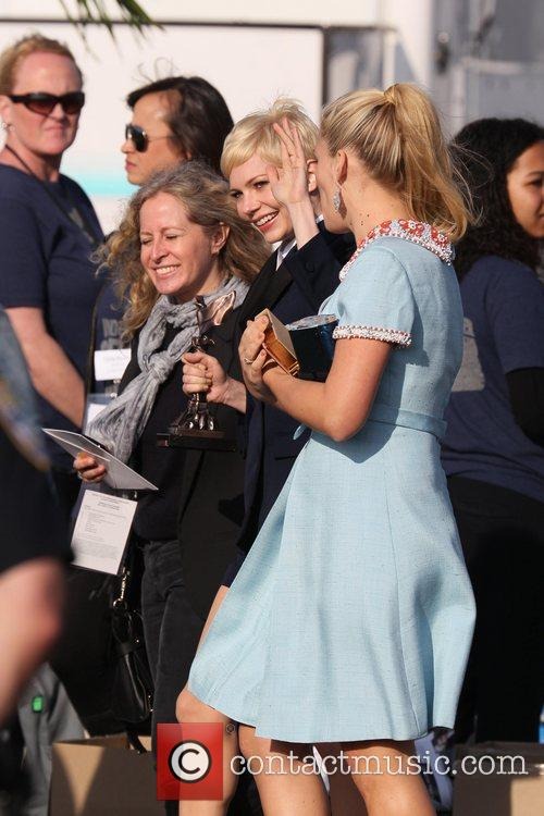 Michelle Williams, Busy Philipps and Independent Spirit Awards 5