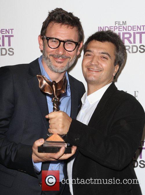 Michel Hazanavicius, Thomas Langmann and Independent Spirit Awards 8