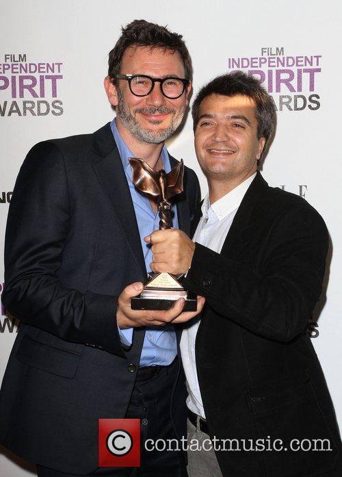 Michel Hazanavicius, Thomas Langmann and Independent Spirit Awards 10