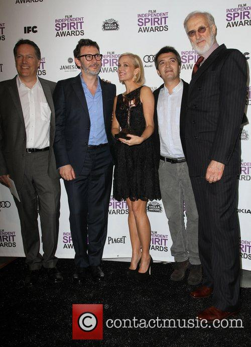 Michel Hazanavicius, James Cromwell, Penelope Ann Miller, Thomas Langmann and Independent Spirit Awards