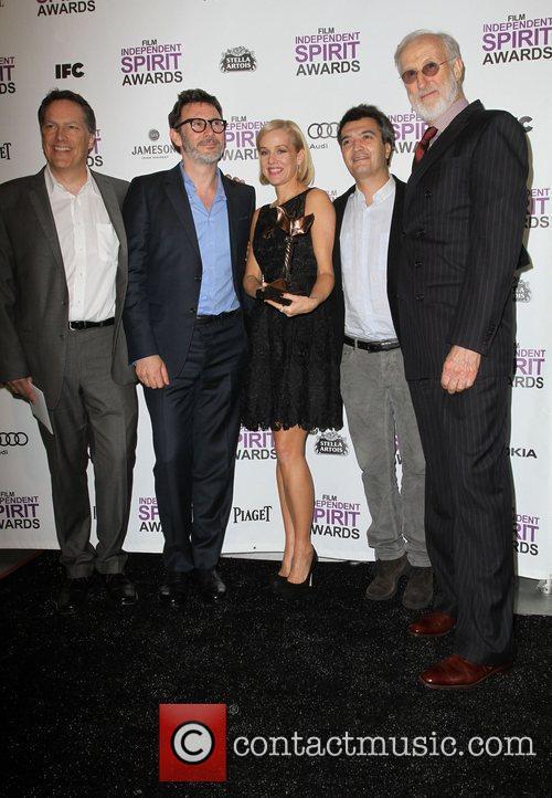 Michel Hazanavicius, James Cromwell, Penelope Ann Miller, Thomas Langmann and Independent Spirit Awards 5