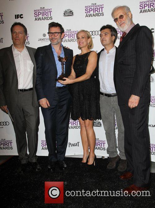 Michel Hazanavicius, James Cromwell, Penelope Ann Miller, Thomas Langmann and Independent Spirit Awards 6