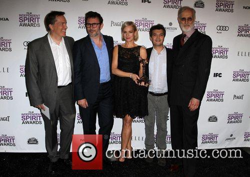 Michel Hazanavicius, James Cromwell, Penelope Ann Miller, Thomas Langmann and Independent Spirit Awards 7