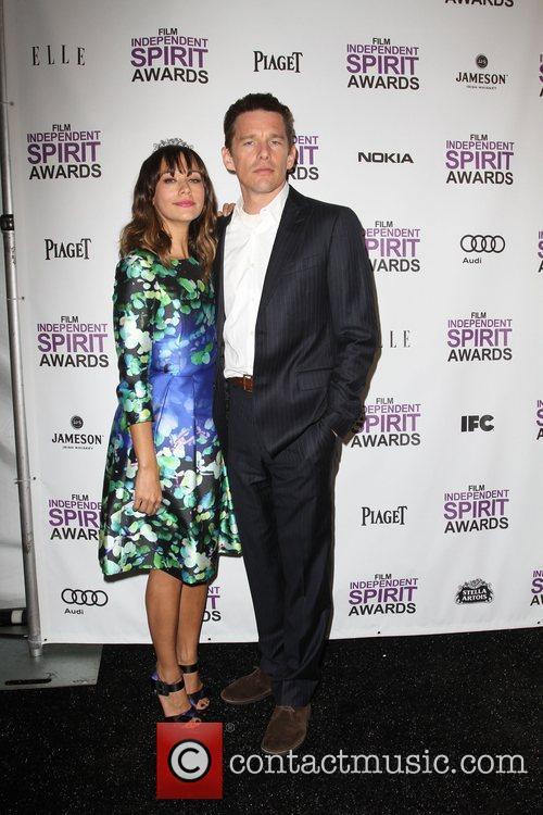Rashida Jones, Ethan Hawke and Independent Spirit Awards 2