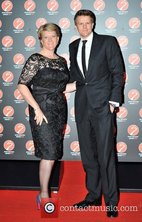 Clare Balding and Jake Humphrey Sport Industry Awards...