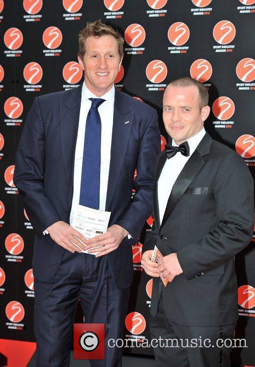 Will Greenwood (L) and guest Sport Industry Awards...