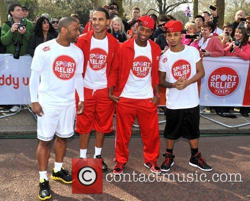 Jonathan Gill, Aston Merrygold and Jls 10