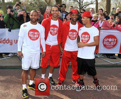Jonathan Gill, Aston Merrygold and Jls 11