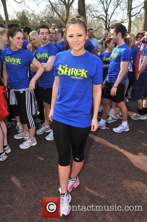 Kimberley Walsh Sainsbury's Sport Relief Mile 2012 -...