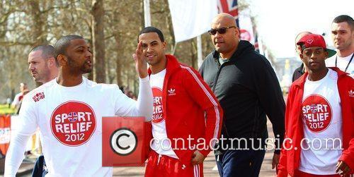 JB Gill , Marvin Humes and Oritse Williams...
