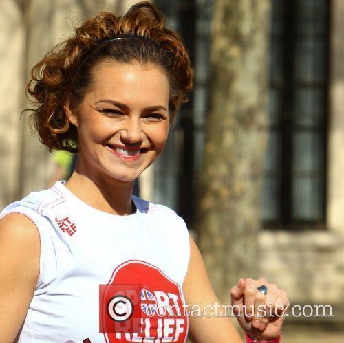 Kara Tionton Sainsbury's Sport Relief Mile 2012 -...
