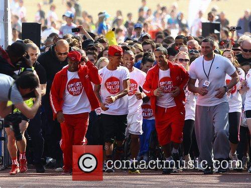 Aston Merrygold and Jls 8