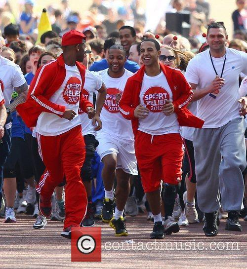 Aston Merrygold and Jls 9