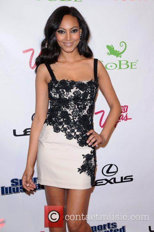 Ariel Meredith  The Launch of The 2012...