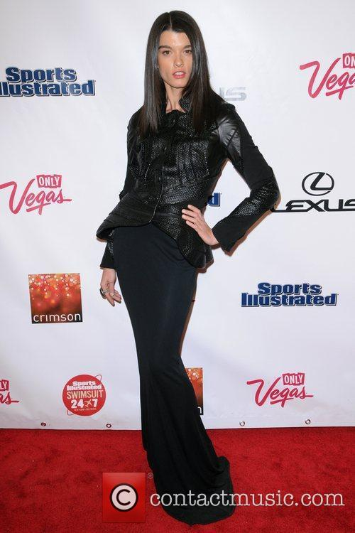 Crystal Renn The Launch of The 2012 Sports...