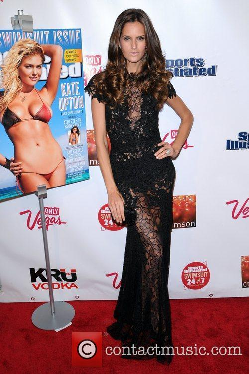 Izabel Goulart  The Launch of The 2012...
