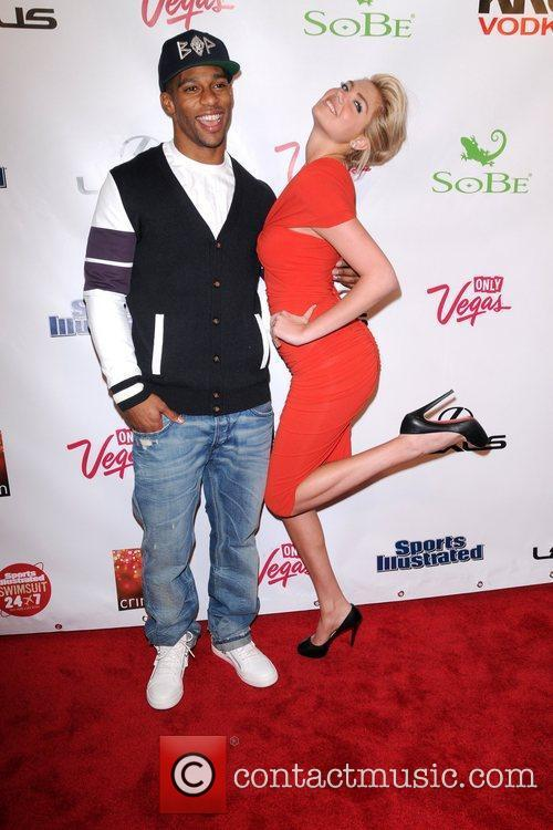 Victor Cruz and Kate Upton 2