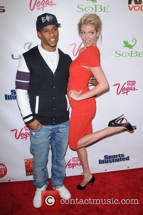 Victor Cruz and Kate Upton 1