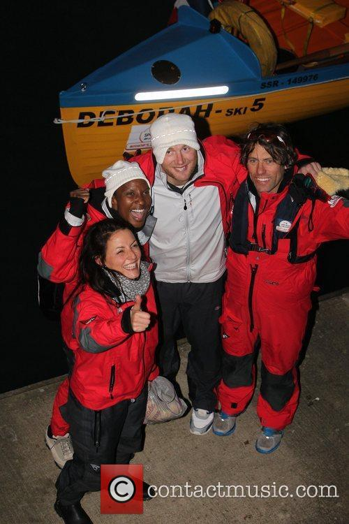 Davina Mccall, Andrew Flintoff, Denise Lewis and John Bishop 3