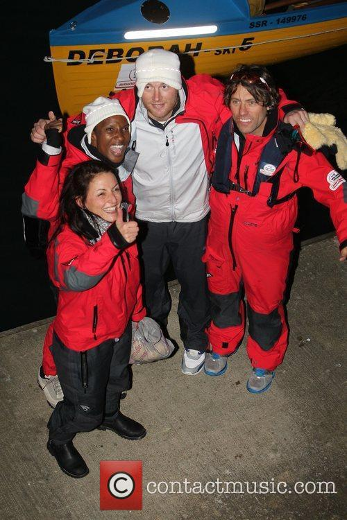 Davina Mccall, Andrew Flintoff, Denise Lewis and John Bishop 7