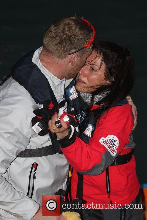 davina mccall freddie flintoff celebrities rowed across 3756416