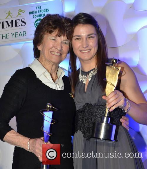 Maeve Kyle and Katie Taylor 2