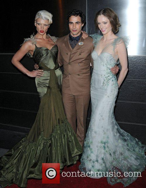 Zac Posen and Coco Rocha