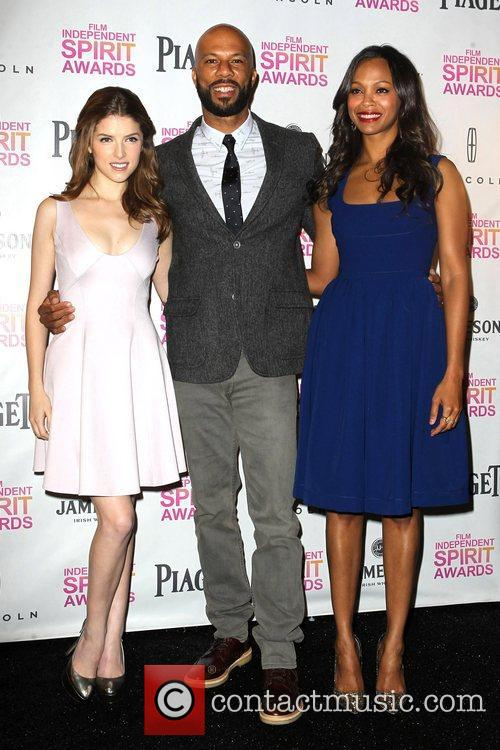 Anna Kendrick, Common and Zoe Saldana 11