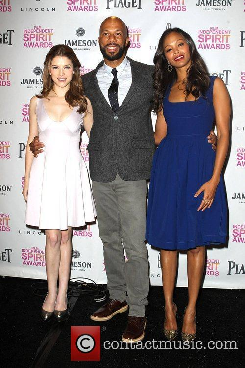 Anna Kendrick, Common and Zoe Saldana 10