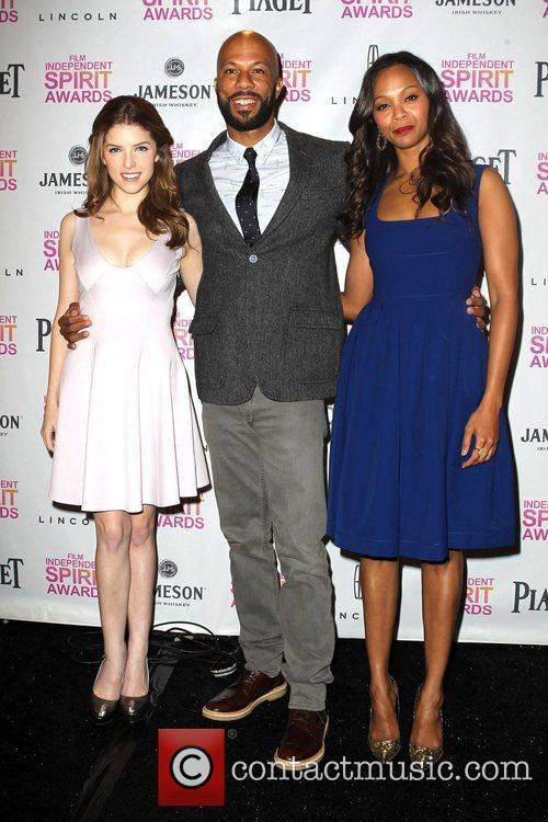 Anna Kendrick, Common, Zoe Saldana