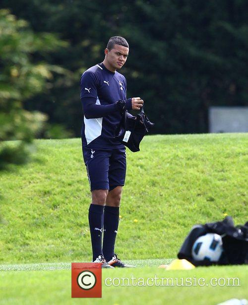 Jermaine Jenas Tottenham Hotspur players and management at...
