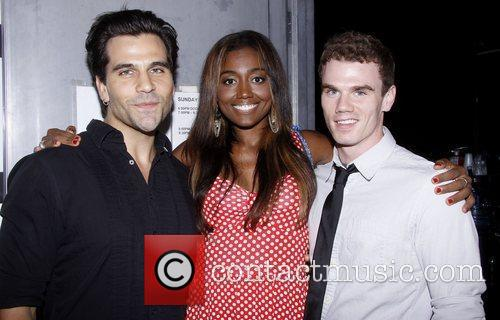 Steel Burkhardt, Patina Miller and Jay Armstrong Johnson...
