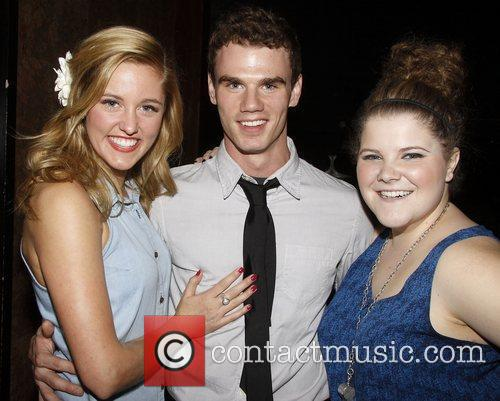 Taylor Louderman, Jay Armstrong Johnson and Ryann Redmond...