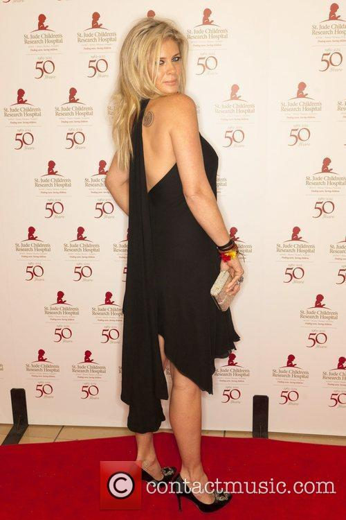 Rachel Hunter, Beverly Hilton Hotel