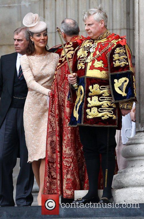 Prince Andrew, Duke of York, and Catherine, Duchess...