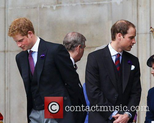 Prince Harry and Prince William 3