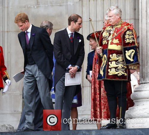 Prince Harry and Prince William 4