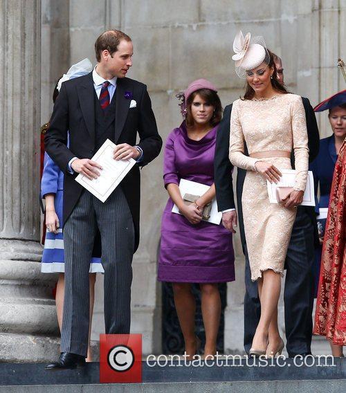 Prince William, Duke of Cambridge, Princess Eugenie,, Catherine,...