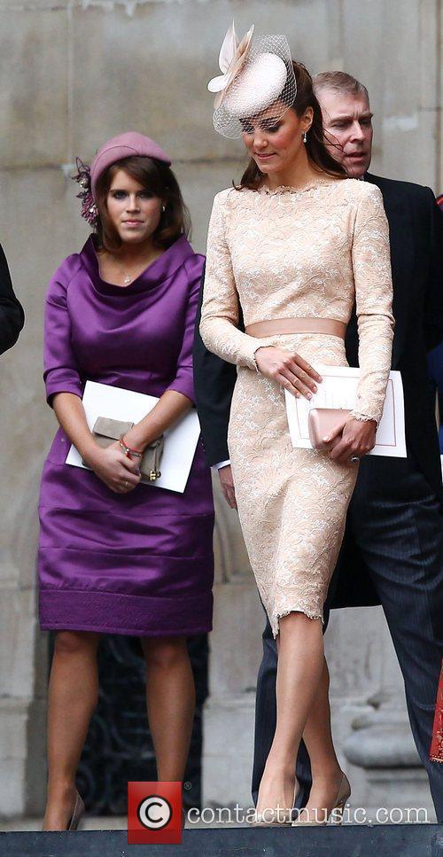 Princess Eugenie, Catherine, Duchess of Cambridge, aka Kate...