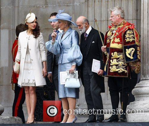 Princess Michael Of Kent, Kate Middleton and Prince William 2