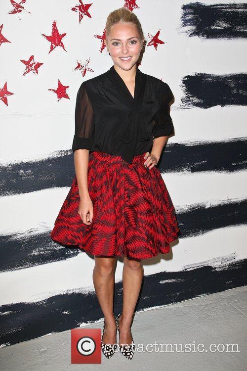AnnaSophia Robb Mercedes-Benz New York Fashion Week Spring/Summer...