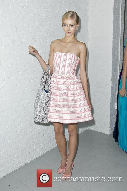 Model Mercedes-Benz New York Fashion Week Spring/Summer 2013...